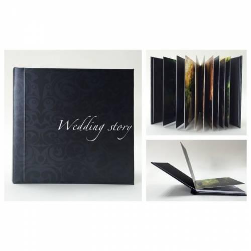 Album foto softcover wedding story